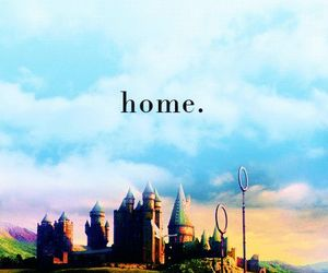 home, harry potter, and hogwarts image