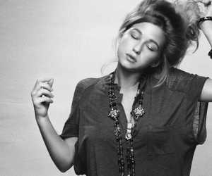 selah sue and black and white image