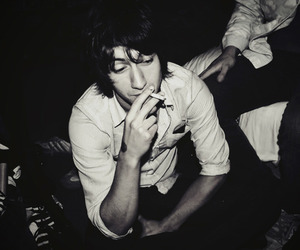 alex turner, arctic monkeys, and cigarette image