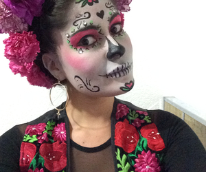 beauty, catrina, and colors image