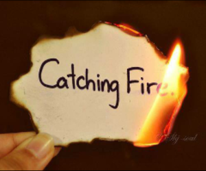 fire and catching fire image