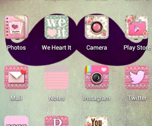 mustache, girly, and pink image