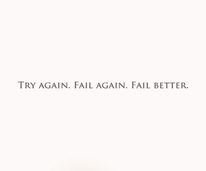 again, fail, and inspiring quotes image