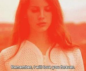 lana del rey and forever image