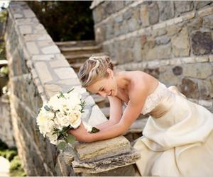 girl, wedding, and beautiful image