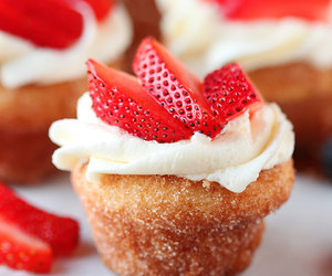 candy, sweet, and cupckae image