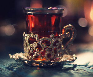 tea, drink, and cup image