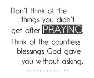 blessing, god, and quotes image