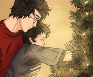 fan art, james potter, and father and son image