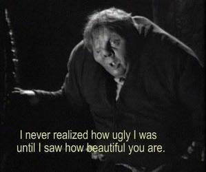 beautiful, ugly, and quotes image