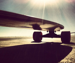 adventure, longboard, and square format image