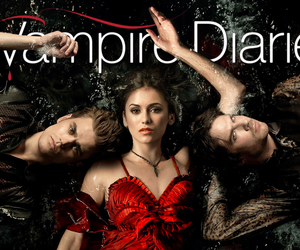 stefan, tvd, and the vampire diaries image
