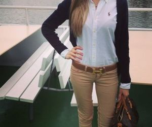 hermes, outfit, and ralph lauren image