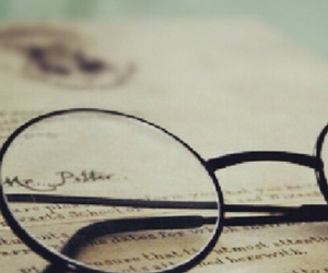 book, harry potter, and glasses image
