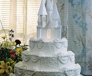 cake, wedding, and princess image
