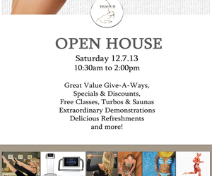 pilates, prizes, and open house image