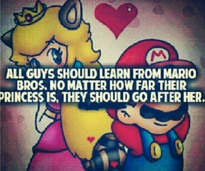 mario, love, and princess image