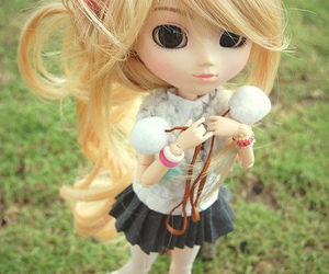 blonde, boot, and doll image