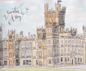 art and downton abbey image