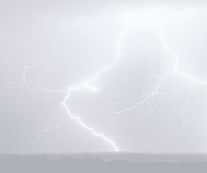 pale, pink, and lightning image