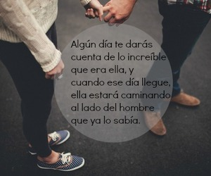 Chica, chico, and frase image