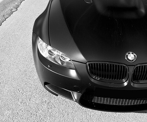 black, black and white, and bmw image