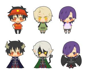 anime, chibi, and hataraku maou-sama! image