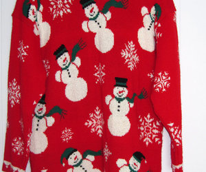 vintage and ugly christmas sweater image