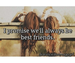 best friends, promise, and always image