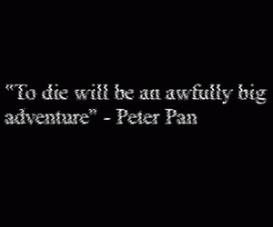 peter pan, quotes, and adventure image