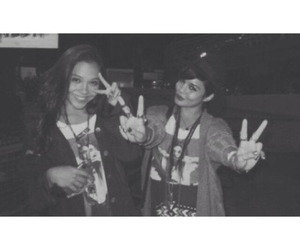 black and white, hudgens, and icon image