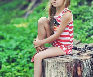 fashion, tumblr, and little girl image