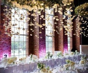 decoration, wedding, and flowers image