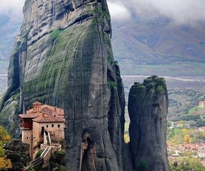 Greece, meteora, and mountains image