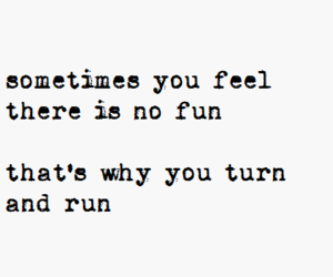 quote, Lyrics, and run image