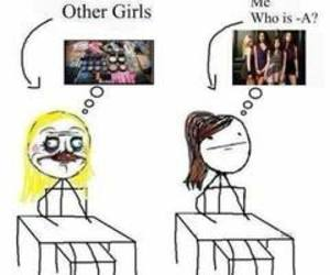 pll, pretty little liars, and me image