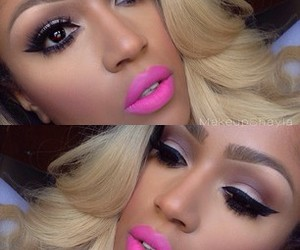 lips, luxury, and make up image