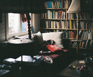 book, room, and indie image