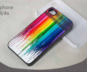colorful, rainbow, and cover image