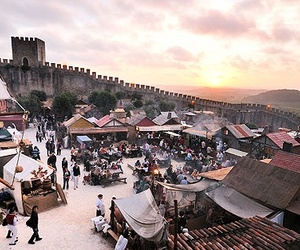 festival, medieval, and portugal image