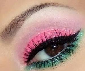 eye shadow, makeup, and cute image