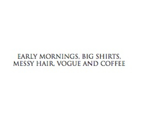 morning, vogue, and coffee image