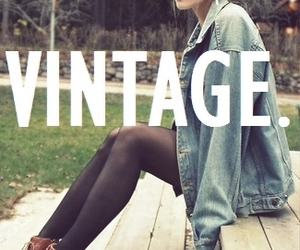 vintage, girl, and fashion image