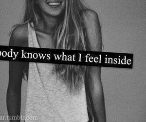 inside, nobody, and feel image