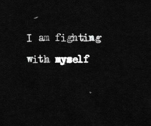 fight, quote, and text image