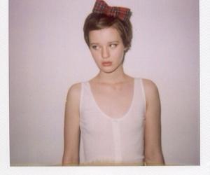girl and polaroid image