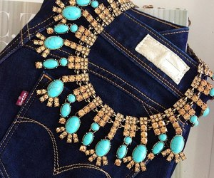 jeans and jewelry image