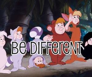 different, peter pan, and quote image