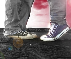adorable, converse, and edited image