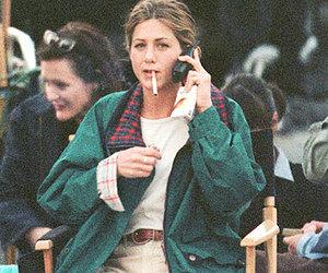 jen, Jennifer Aniston, and smoking image